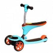 Детско колело за баланс и тротинетка 2 в 1, JD BUG Nanny, MAS-S005-orange-black