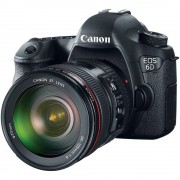 Canon Cámara Reflex Canon EOS 6D + Objetivo Canon EF 24-105 mm Negro