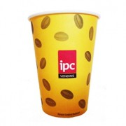 Pahare Carton IPC 240 ml - 100 buc.