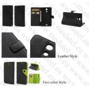 "Sony Xperia ZR M36h (калъф кожен - ""Book style"")"
