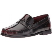 Ted Baker Men's Rommeo Lhs Am Dk Penny Loafer, Dark Red, 7. 5 M US