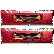 G.Skill 8 GB DDR4-RAM - 2133MHz - (F4-2133C15D-8GRR) G.Skill Ripjaws Red Kit CL15