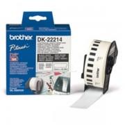 Brother Originale P-Touch QL 500 Etichette (DK-22214) bianco 12mm x 30,48m - sostituito Labels DK22214 per P-Touch QL500