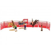 M & F Western Boys Bigtime Rodeo Bull Rider And Set Brown One Size