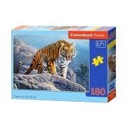 Puzzle Tigru pe Piatra, 180 piese