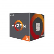 Procesador AMD Ryzen R5 1400, 3.2 GHz (hasta 3.5 GHz), Socket AM4, Quad-Core, 65W. YD1400BBAEBOX