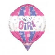 Balon folie aerostatic Baby Girl