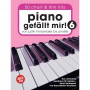 Bosworth Music Piano gefällt mir! 50 Chart & Film Hits 6, Spiralbindung