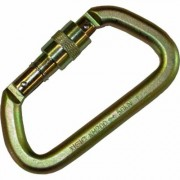 Portable Winch Steel Locking Carabiner, Model PCA-1702
