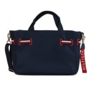 Tommy Hilfiger Women Casual Blue Nylon Tote