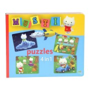 Musti 4 in 1 Puzzle Book