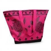 Плажна чанта Tropical Turtle Pink