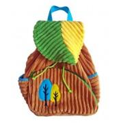 "Рюкзачок ""Лес"" бежево-зеленый, 20*28 см, пакет"