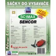 Sáčky do vysavače SENCOR SVC 660 RD Corso, textilní 4ks