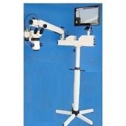 Mars Zoom Dental Microscope Wall Mount Beam Splitter Ccd Camera Motorized Focusing