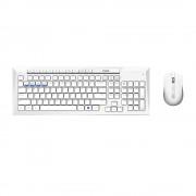 KBD, Rapoo 8200M Multi mode, Desktop, Bluetooth &2.4Ghz, White (18276)