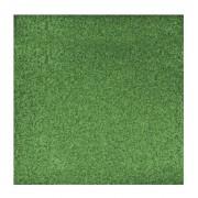 Rayher hobby materialen Groen glitter papier vel