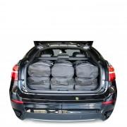 Car-Bags BMW X6 (2008-2014) 6-Delige Reistassenset zwart