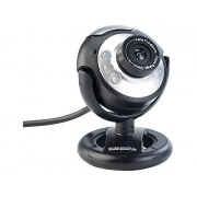 Hochauflösende USB-Webcam mit 6 LEDs, HD-Video (1280 x 1024 Pixel) | Webcam