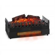 Klarstein KAMINI FX, șemineu electric, clapetă de șemineu, 1000W/2000W 2W led, negru F (FP5-Kamini-FX)