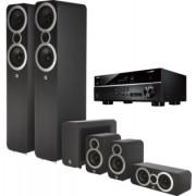 Pachete PROMO SURROUND - Q Acoustics - 3050i pachet 5.1 + Yamaha RX-V485 Arctic White
