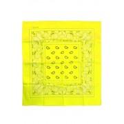 Bandana fluor geel