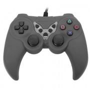 Gamepad dual vibration color gris para juegos 656545G