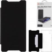 Sony - SMA5160B - Custodia ROXFit - Slimline Book Case per Sony Xperia Z5 - Nero