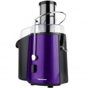 Storcator de fructe Heinner XF 1000UV 1000 W Tub XXL Sita Inox Recipient suc 1 L Recipient pulpa 2 L Violet