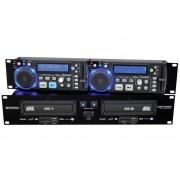 Omnitronic XDP-2800 Dual CD/Mp3 lejátszó