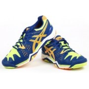 Asics Gel-Resolution 6 Men Tennis Shoes For Men(Multicolor)