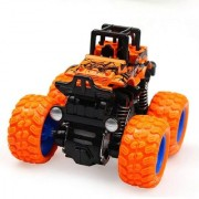 Cos theta Powered Monster Trucks Car Toy Set ( Pack of 4 ) (Multicolor)