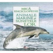 Animale marine si sunetele lor. Carte cu sunete