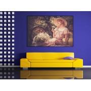Tablou canvas vintage lady - cod F16