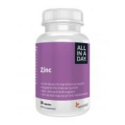 Sensilab Zinc - Beauté peau, cheveux et ongles - sans gluten ni lactose - 30 capsules