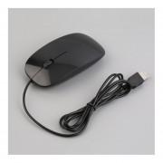 Ratón óptico Inalámbrico Ultra Fino De Alta Calidad Ratones USB Para PC Portátil Negro