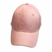 Cool Unisex Cotton Embroidery Caps Hats Sports Tennis Baseball Cap(Pink-cd-Youth)