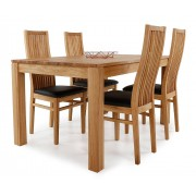 Ekenäs matbord 140x90cm + Eksjö stolar