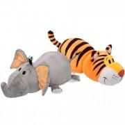 Mascota FlipaZoo 32 cm - Tigru si Elefant