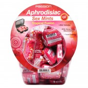 Tropical Fusion Aphrodisiac Sex Mints Retail Fishbowl Display- 60 Piece Display