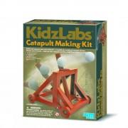 4M Spel Catapult Making Kit voor kinderen - Bruin