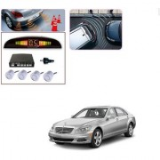 Auto Addict Car Silver Reverse Parking Sensor With LED Display For Mercedes Benz S-Class