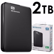 Disco Duro Externo Western Digital Elements 2 TB