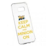 Husa de protectie Minion Keep Calm Samsung Galaxy S8 Plus rez. la uzura anti-alunecare Silicon 209