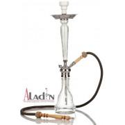 Aladin Nomád 75 cm vízipipa — fehér