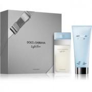 Dolce & Gabbana Light Blue lote de regalo II. eau de toilette 50 ml + crema corporal 100 ml