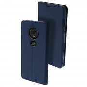 Dux Ducis Skin Pro Motorola Moto G7, Moto G7 Plus Flip Case - Dark Blue
