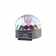 Luz Disco Dj Magic Ball Esfera Bocina 6 Luces LED Display 6 Canales DMX