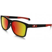Oakley Catalyst Steel Chrome Iridium Negro/Rojo