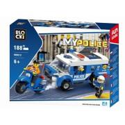 Joc constructie, My Police, Brigada de politie, 188 piese Blocki